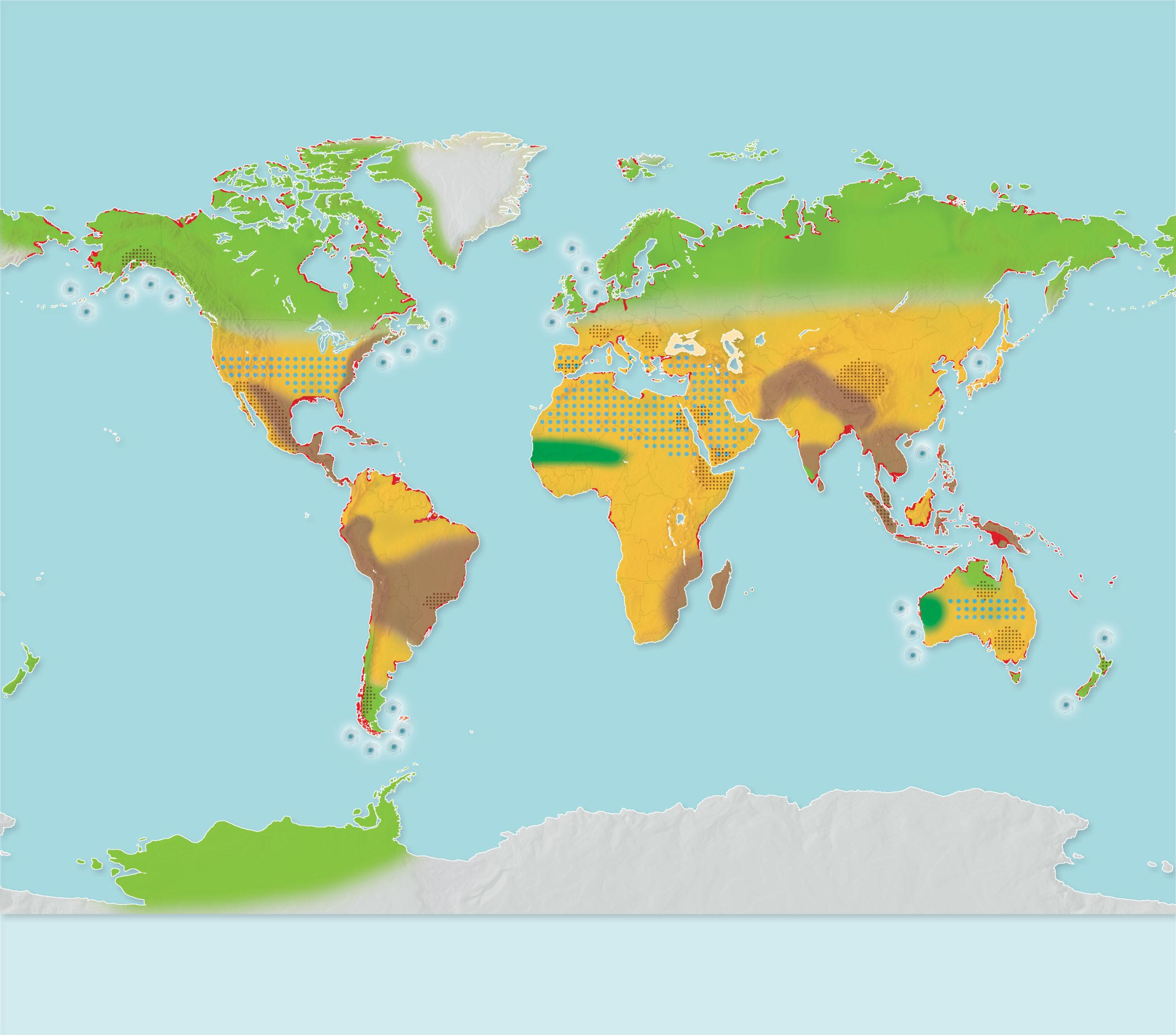 A 4 Degree Warmer World